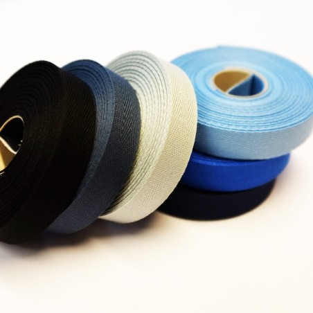 Round Braided Elastic - 100m Rolle