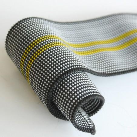 Crochet plastifié noir - 100 pièces