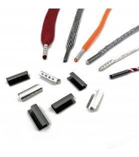 Embout métal pour lacet 3 à 5mm - 1000pcs
