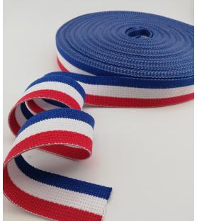 Tri-colour strap...