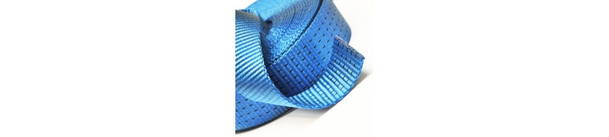 Ultra high-strength polyester webbing, sold roller