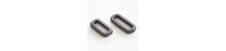 Rectangular strap loops, all widths