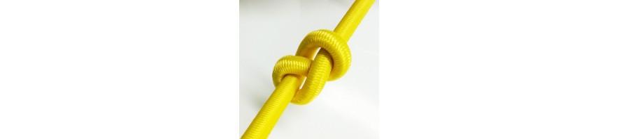 cuerdas elásticas / elásticas fabricadas en Francia