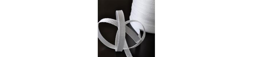 Strip woven textile