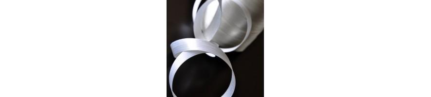 Textile strip wire to wire